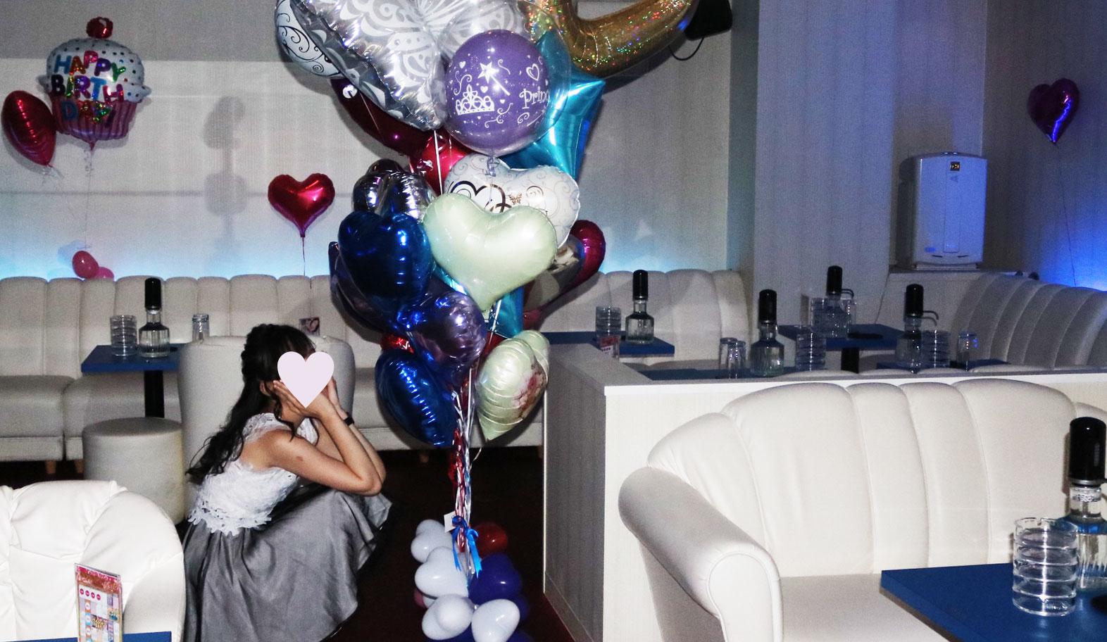 バルーン,女子会,パーティー,キャバクラ,お届け,配達,お誕生日