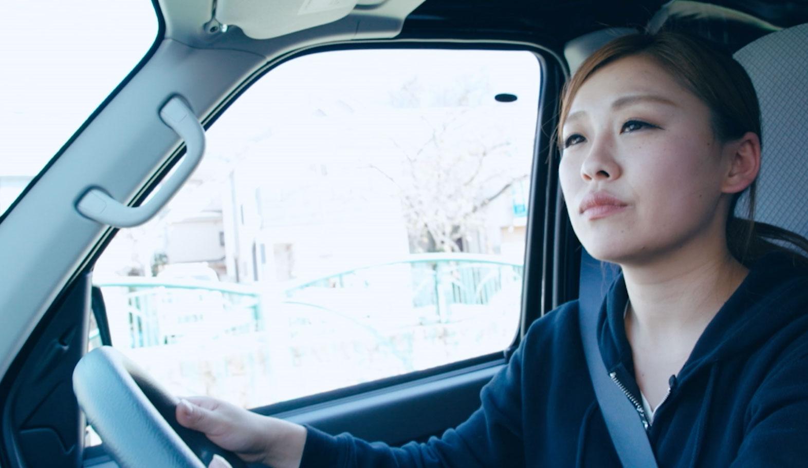 佐々木美由紀,宅配,かわいい,軽貨物,新型ハイゼットカーゴ,ダイハツ
